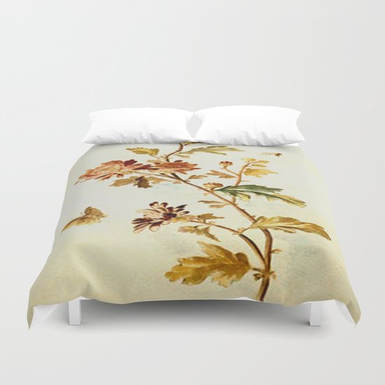 Chrysantheme Duvet Cover