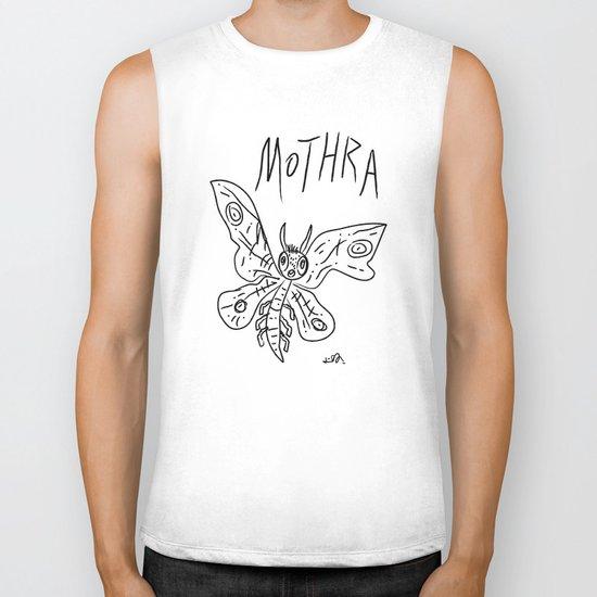Mothra Biker Tank