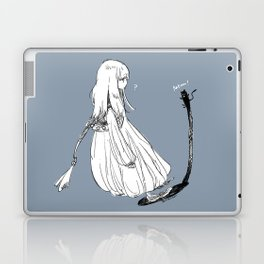 With a shadow cat Laptop & iPad Skin
