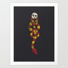 The Scarf Mark Art Print