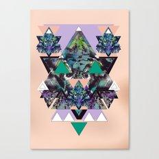 GEOMETRIC MYSTIC CREATURE Canvas Print