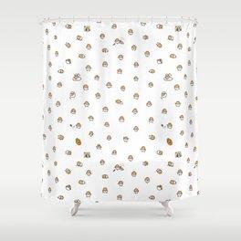 Baby Potato Shower Curtain