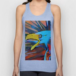 Bald Eagle 3 Unisex Tank Top