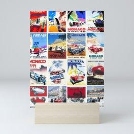 Monaco Grand Prix 1930 1966 Mini Art Print