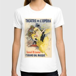 Belle Epoque vintage poster, French Theater, Theatre de L'Opera T-shirt