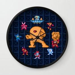 Man Mega One Pixels Wall Clock