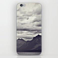 Mountain Lake Black and White iPhone & iPod Skin