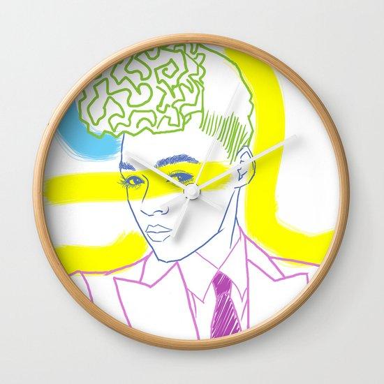 """The Electric Lady"" by Tim Lukowiak Wall Clock"