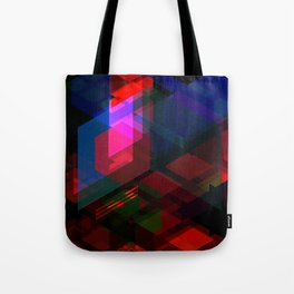 Abstract effect of hologram Tote Bag