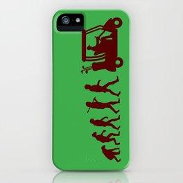 Evolution - golf iPhone Case