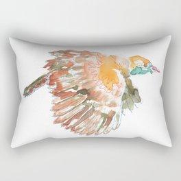 Claudio the bird Rectangular Pillow