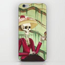 Jane Austen La Catrina iPhone Skin