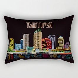 Tampa Circuit Rectangular Pillow