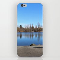 trout iPhone & iPod Skins featuring Trout Lake by RMK Photography