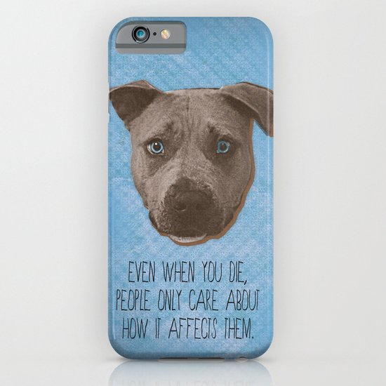 Pit Bull Print iPhone & iPod Case