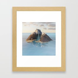 #Pacific #Seclusion - 20151107 Framed Art Print