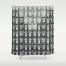The working class Shower Curtain