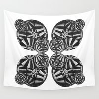 china Wall Tapestries featuring coccolithales china by Bárbara Andrez