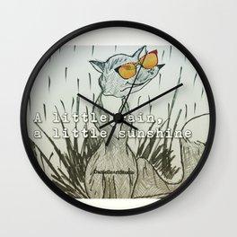Rain & Shine Wall Clock