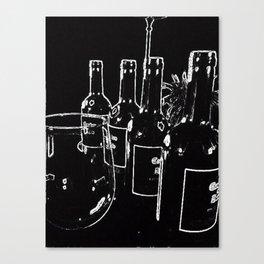 Wine - Problem Solver Canvas Print