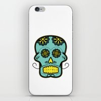 calavera iPhone & iPod Skins featuring Calavera  by Cody Wilkes-Booth