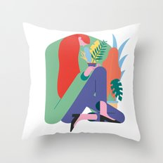 Plant lover Throw Pillow