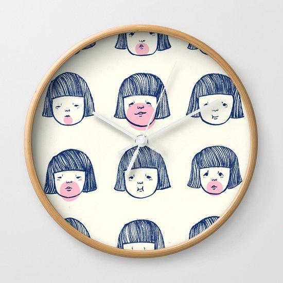 Bubble bubble bubble gum Wall Clock