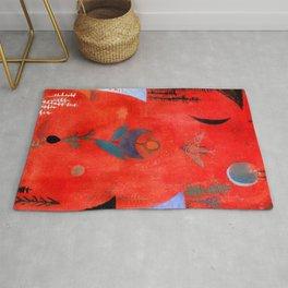"Paul Klee ""Flower Myth"" (1918) Rug"