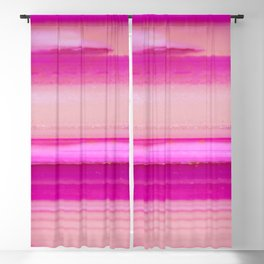 Candy stripes Agate Blackout Curtain