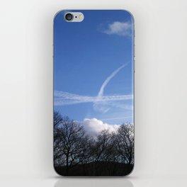 Plane Drawing iPhone Skin