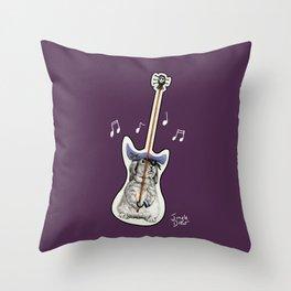 That's not a guitar Throw Pillow