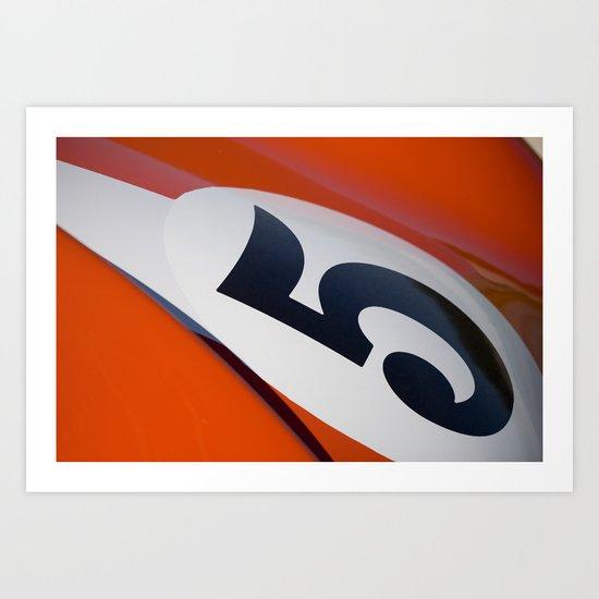 Racer Five Art Print