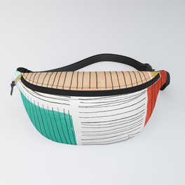 Color Blocks Fanny Pack