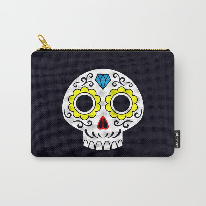 Sugar skull for a cake Carry-All Pouch