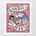 Unicorns Are Jerks by theonicole