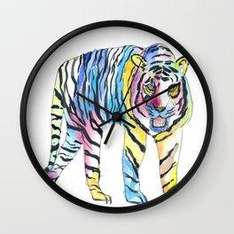 The Colorful Siberian Tiger Wall Clock