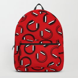 Headphones-Red Backpack