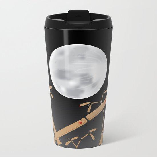 Tale of the Bamboo Cutter Metal Travel Mug