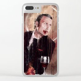 Fun times - blood Clear iPhone Case