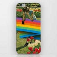 polaroid iPhone & iPod Skins featuring Polaroid by Blaz Rojs