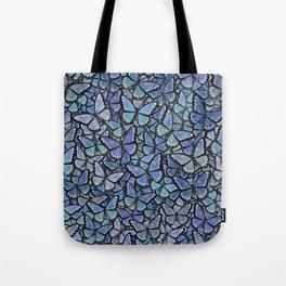 blue Hera butterflies aflutter Tote Bag