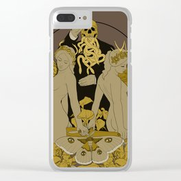 Serpentes Emesis (Rotten Yellow) Clear iPhone Case