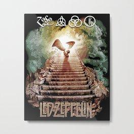 Red Zeppelin - Stairway to Heaven Metal Print