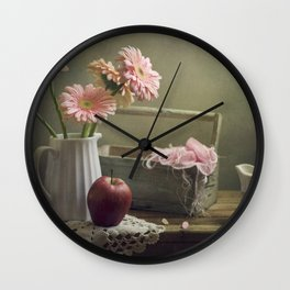 In the spring mood Wall Clock