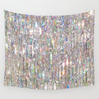prism Wall Tapestries featuring To Love Beauty Is To See Light (Crystal Prism Abstract) by soaring anchor designs
