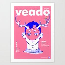 Veado  Art Print