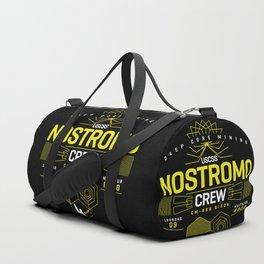 Deep Mining Crew / Nostromo / Alien / Science Fiction / Horror / Typography Duffle Bag