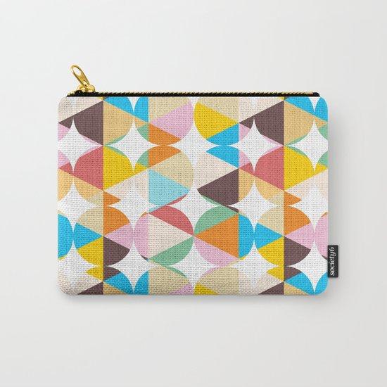 Retro Geometry #society6 #decor #buyart Carry-All Pouch