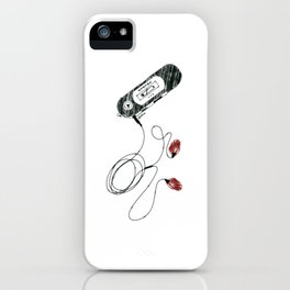 no more love songs iPhone Case