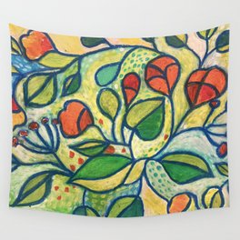 Vibrant Wall Tapestry